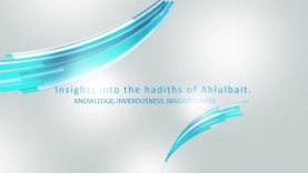 The value of knowledge and denunciation of invidiousness and niggardliness