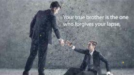 Characteristics of a true brother