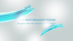 The most negligent person