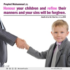 Encouraging the Teaching of Good Manners to the Family