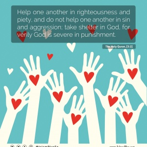 Help One Another in Good Acts!